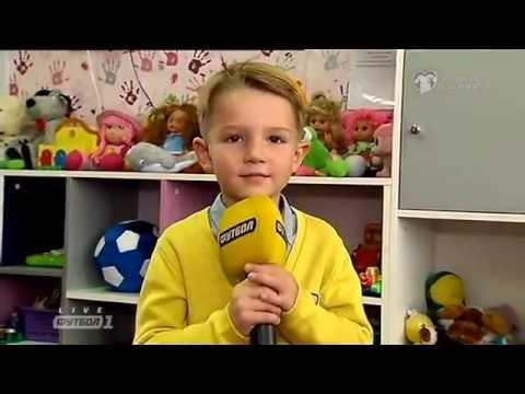 Дети игроков сборной Украины пожелали удачи своим отцам