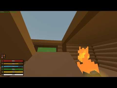 Как сделать лестницу, пролёт, пандус в Unturned Как сделать люк на крышу, костёр - CP - Fun & Music Videos