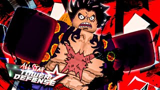 (EXCLUSIVE CODE) GEAR 4TH Luffy On All Star Tower Defense