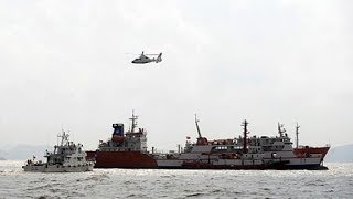 Two missing after ship collision in south China