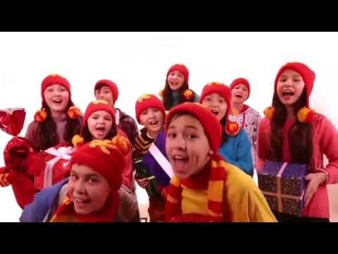 Новогодняя песня на башкирском языке 2015