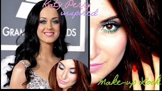 [ Katy Perry inspired MakeUp Look ] Tutoriel maquillage inspiré de Katy Perry