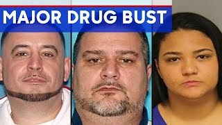 DRUG BUST: $1 million in drugs, $300K in cash confiscated