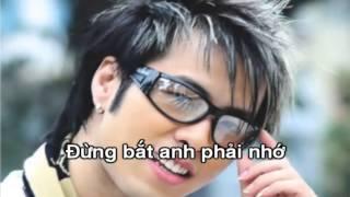 [Karaoke] Đừng bắt anh ngừng yêu em - Akira Phan