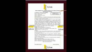 EL MEMORIAL  DOCUMENTO (CONCEPTO Y PARTES)