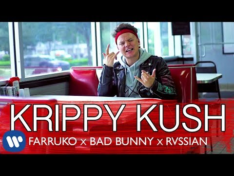 download lagu Farruko, Bad Bunny, Rvssian - Krippy Kush English Version gratis