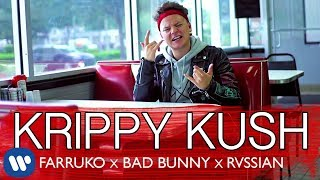 Farruko, Bad Bunny, Rvssian - Krippy Kush (English Version)