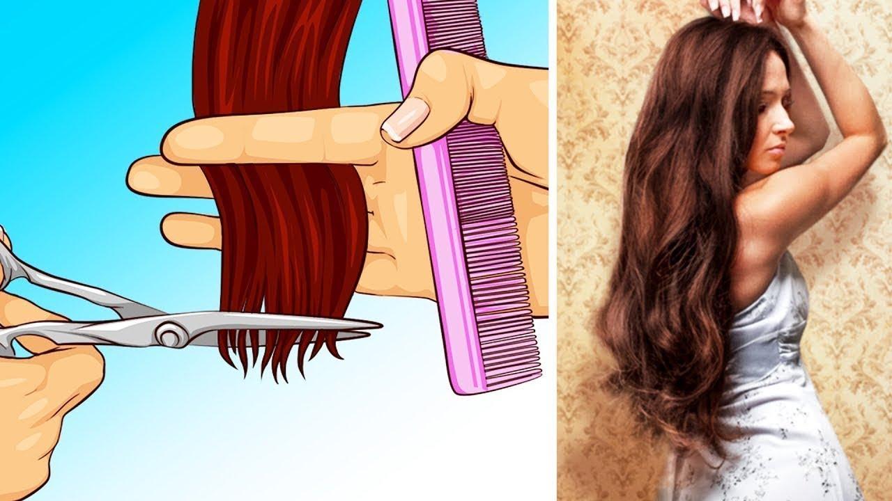 Как сделать чтобы вырастить волосы 671