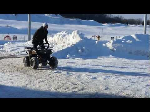 125cc ATV Drifting HD Brad Evans