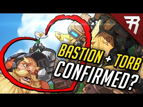 NEW COMIC! Bastion and Torbjorn (Overwatch Lore & Backstory Analysis)