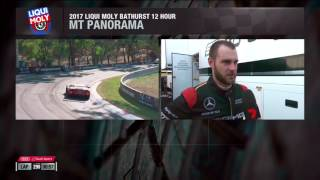 Shane van Gisbergen post-crash interview - 2017 Liqui-Moly Bathurst 12 Hour