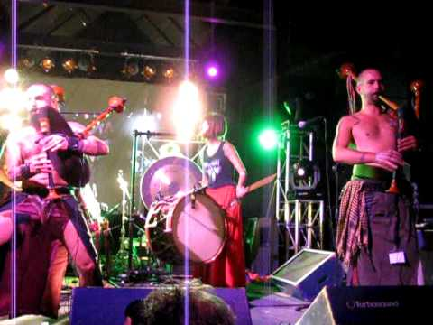 Barbarian Pipe Band Live at Musica Viva MW 2011