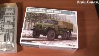 TRUMPETER URAL-4320 Truck scale model 1/35