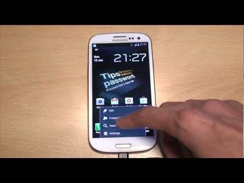 Clear Internet Browsing Search History on Samsung Galaxy S3 (SIII
