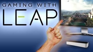 The future of motion-controls is LEAP! Gesture-powered HALF-LIFE 2, Fruit Ninja, and Angry Birds
