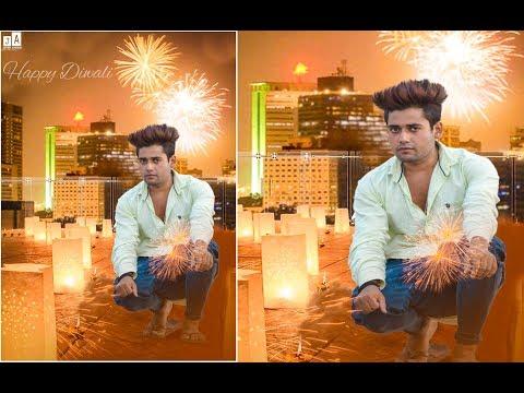 Diwali Photo editing tutorial | Deepawali special editing | Photoshop Tutorial