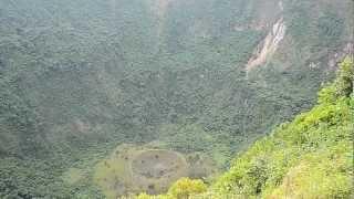 Crater del Volcan San Salvador Conocido Popularmente como Quezaltepec