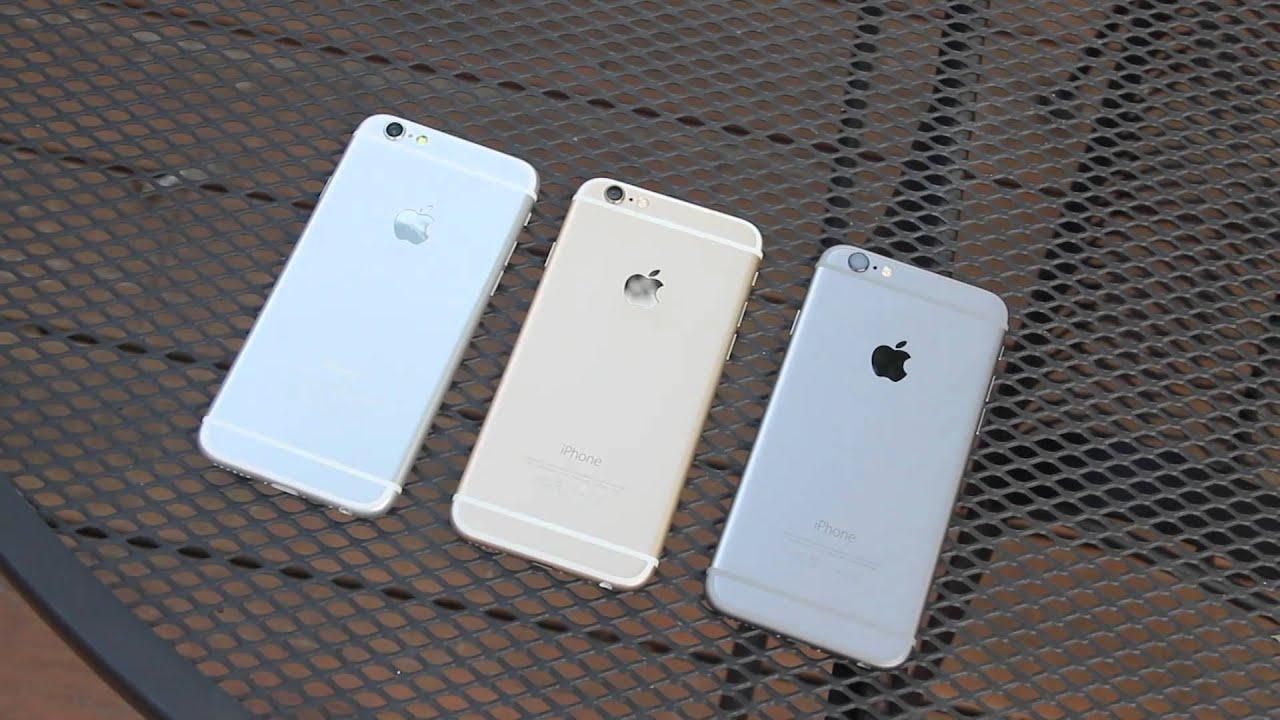 iphone 6s plus sølv