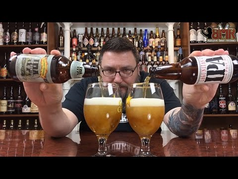 Massive Beer Reviews # 295 Lagunitas IPA VS Sierra Nevada Hop Hunter IPA