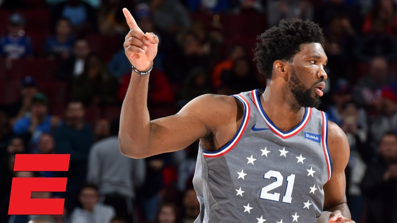 Joel Embiid scores 42 points in 76ers' OT win vs. Hornets   NBA Highlights