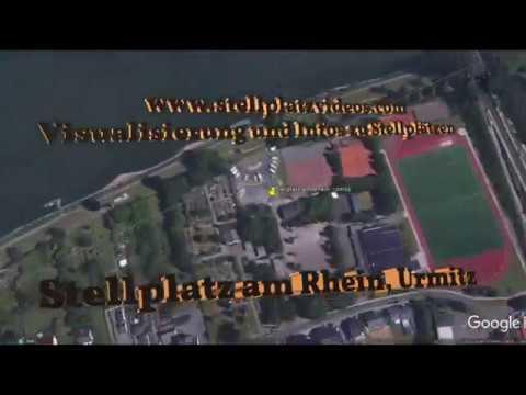 Stellplatzvideo  Stellplatz am Rhein, Urmitz