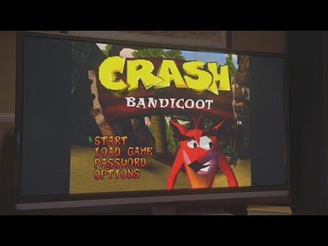 Uncharted 4 - Nathan Drake Plays Crash Bandicoot Scene