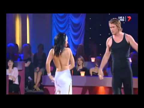 CHRIS HEMSWORTH  - DWTS - SMOOTH