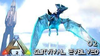 ARK: SURVIVAL EVOLVED - LEGENDARY PTERANODON & GIGA TAME E02 !!! ( PUGNACIA PARADOS )