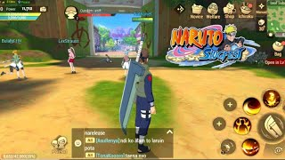 Naruto: Slugfest Gameplay (3D OPEN WORLD MMORPG) Android/IOS