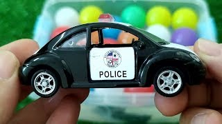 Cars for Kids, Learn Name Sounds Police Car Ambulance School Bus for Kids