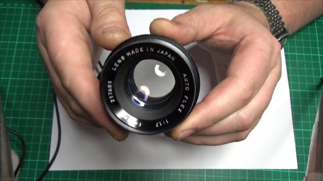 Как сделать микроскоп из объектива 658