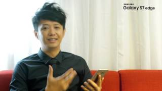 Galaxy S7 edge Introduction by Brand Ambassador Sai Sai