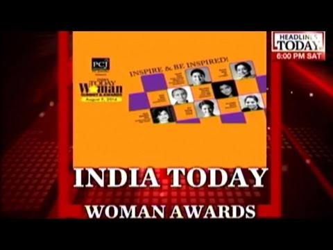 Smriti Irani at the India Today Woman Summit Awards