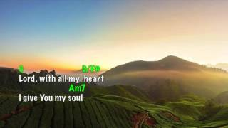 (This is My Desire ) Lord, I GiveYou My Heart (lyrics & chords) Michael W Smith