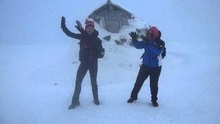 Z-energy Zumba on Ben Nevis' Peak
