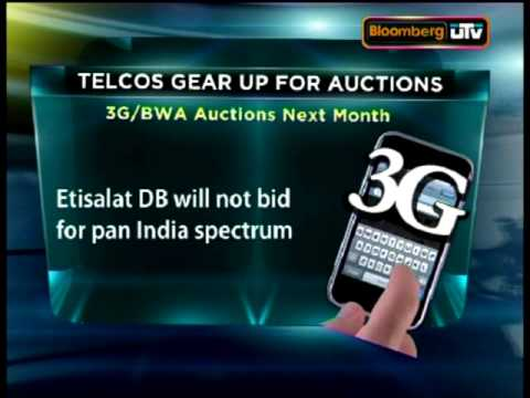 3G spectrum bids to be intense
