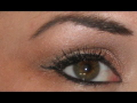 Makeup Look: Neutral Eyeshadow