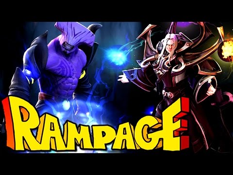 Miracle- Invoker | Liquid Wombo Combo into Rampage DreamLeague Dota 2