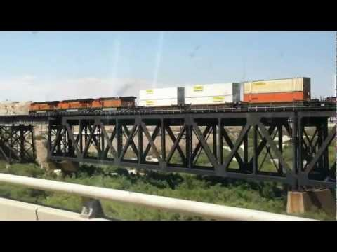 Video Postcard: Welcome To California! (crossing The Colorado River Near Needles) video