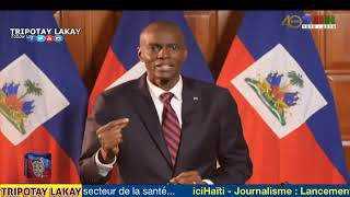 VIDEO: Addresse la Nation du President Jovenel Moise - 24/25 Septembre 2019