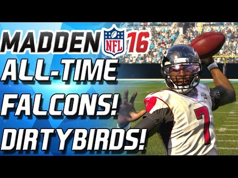 ALL-TIME FALCONS! DIRTY BIRDS! 99 OVERALL VICK! - Madden 16 Ultimate Team