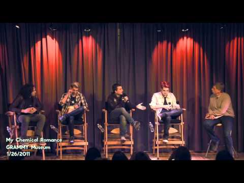 My Chemical Romance- The GRAMMY Museum Interview Part 1
