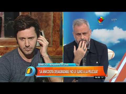 """Benjamín Vicuña junto a la China: """"Espero que se aclare este episodio y se acabe el morbo"""""""