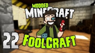 Minecraft: FOOLCRAFT | #22: This is... WAR (BUNKER)! [Modded Minecraft]