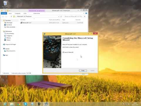 Tutorial Como Obtener Minecraft 1.8.1 Premium Actualizable Gratis!! (No SURVEYS)