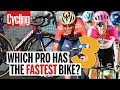 S-Works Tarmac VS Cannondale SuperSix VS Merida Reacto | Which Pro Has The Fastest Bike? Part 3