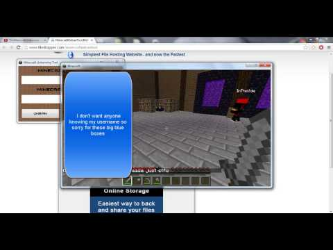 Minecraft Un-banning Tool - Unban yourself from any server!
