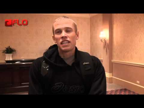 Ryan Hall talks about 5th place after at Chicago Marathon 2011