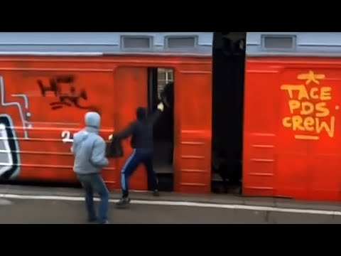Graffiti train bombing: TacePDS - Moscow