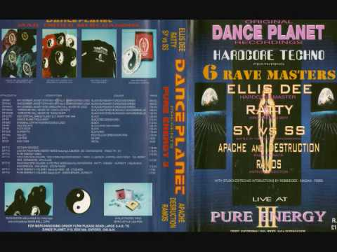 Dance Planet - DJ Ratty - Live At Pure Energy 1994 MC Robbie Dee Video